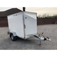 7'x4'x5' Single Axle Box Van Trailer Roller Shutter