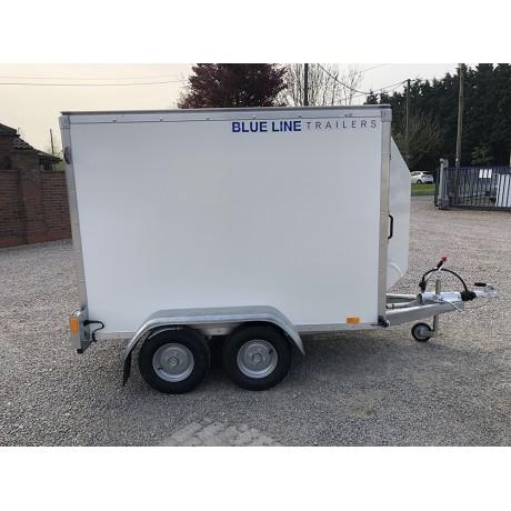 7'x4'x5' Tandem Axle Box Van Trailer Roller Shutter
