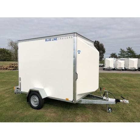 8'x5'x6' Single Axle Box Van Trailer Roller Shutter