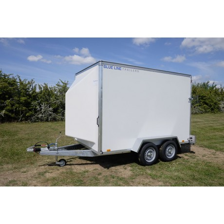 "10'x6'x6'6"" Tandem Axle Box Van Drop Down Tail Gate"