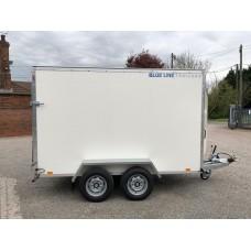 10'x5'x6' Tandem Axle Box Van Drop Down Tail Gate