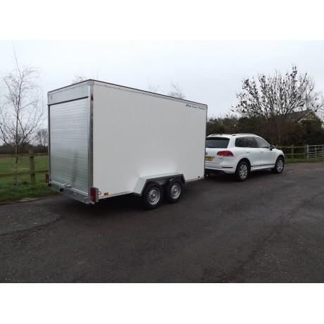 12'x6'x6'6 Tandem Axle Box Van Trailer Roller Shutter