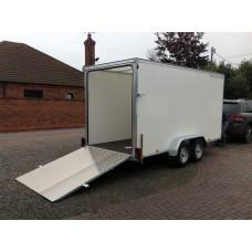 """14'x6'x6'6"""" Tandem Axle Box Van Drop Down Tail Gate"""