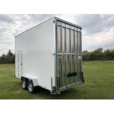 14'x6'x9' Tandem Axle Box Van Drop Down Tail Gate