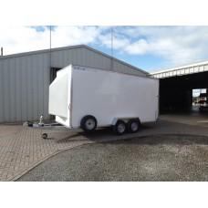 20'x6'x7' Tandem Axle Box Van Roller Shutter Rear Door