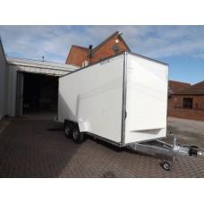 16'x6'x7' Tandem Axle Box Van Drop Down Tail Gate