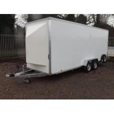 20'x6'x7' Tandem Axle Box Van Drop Down Tail Gate