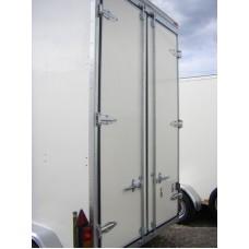 10'x6'x9' Tandem Axle Storage Box Van Trailer