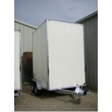 8'x6'x9' Tandem Axle Storage Box Van Trailer