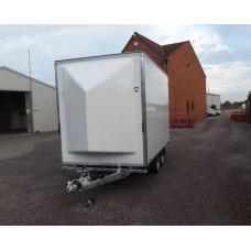 "12'x6'6""x6'6 Tandem Axle Cargo Box Trailer"