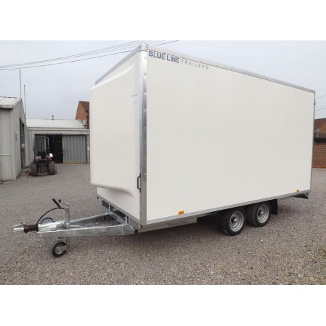 "14'x6'6""x7' Tandem Axle Cargo Box Trailer"