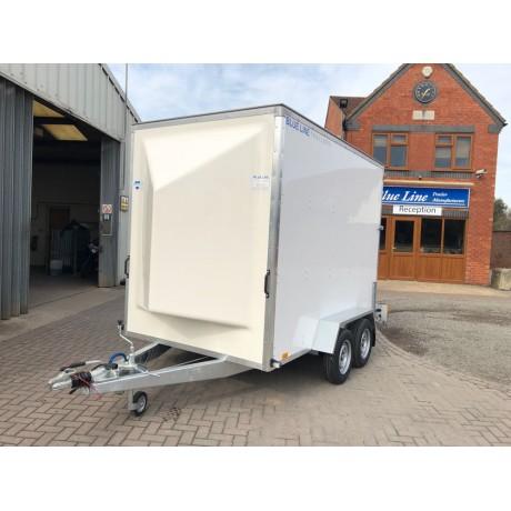 10'x6'x7' Tandem Axle Box Van Drop Down Tail Gate