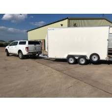 14'x6'x7' Tandem Axle Danish Trolley Box Van