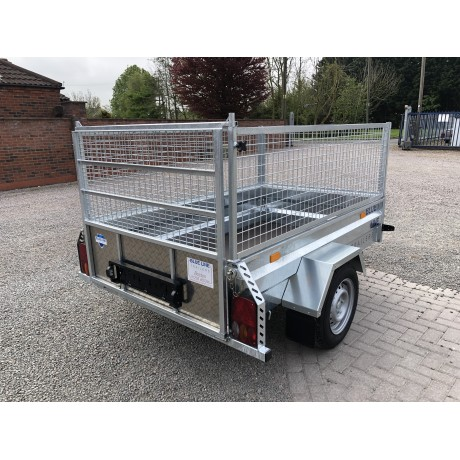 "6'8""x4'1"" General Purpose Trailer with Caged Sides"
