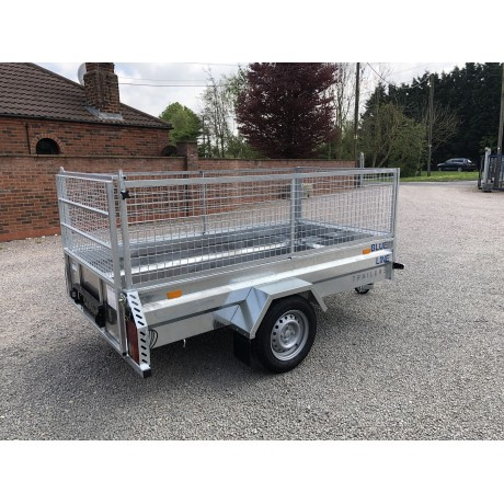 "8'2"" x 4'1"" General Purpose Trailer with Caged Sides"