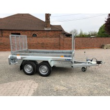 "8'2""x4'1"" General Purpose Tandem Axle High Tail Gate"