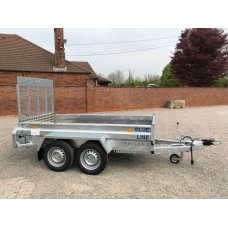 "8'2"" x 4'1"" General Purpose Tandem Axle Fixed Tail Gate"