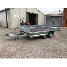 "12' x 6' 6"" Platform Trailer with Drop Sides"
