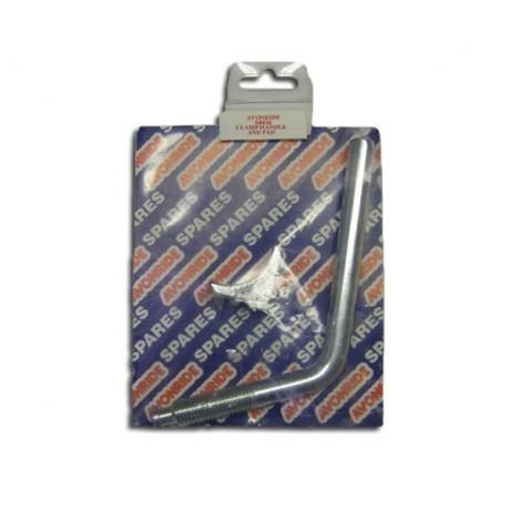 Jockey Wheel Clamp Pad and Handle   Genuine Knott-Avonride SB036 (577000)