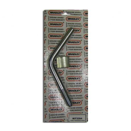 Bradley Locking Pad & Handle Kit 3354 (HU3, HU3H & HU3HE)