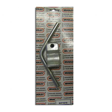 Bradley Locking Pad and Handle Kit 1610 B43