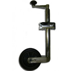 Light duty telescopic Jockey Wheel 34mm