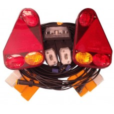Trailer Light Wiring Kit Aspoeck 7 Pin Earpoint 3 Lighting Harness Fits to 14ft