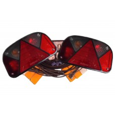 Trailer Light Wiring Kit Aspoeck 7 Pin Multi Point 2 Lighting Harness up to 14ft