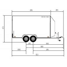 Box Van Trailer Dimensions